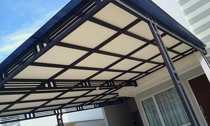 harga kanopi baja ringan per meter persegi layanan jasa pembuatan dan pasang canopy dari perusahaan ...
