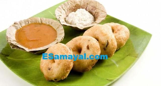 மெது வடை செய்முறை / Medhu Vadai Recipe !