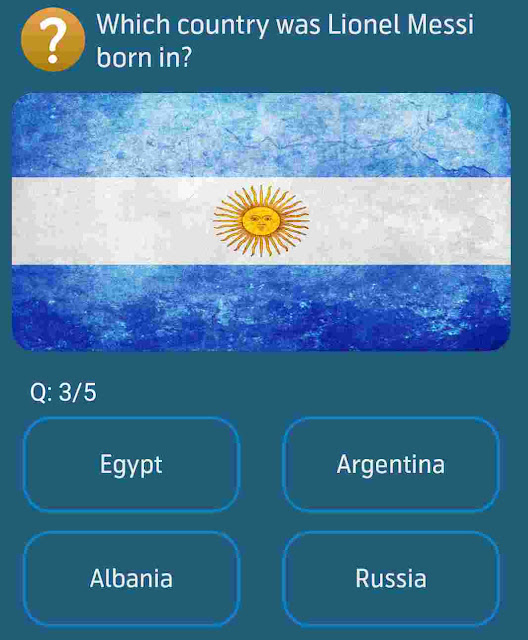 Which country was Lionel Messi born in?