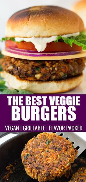 Best Veggie Burger Recipe (Vegan & Grillable)