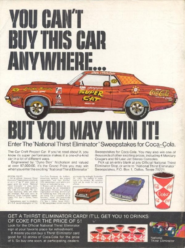 Just A Car Guy: the Super Cat 428 Cobra Jet Cougar will be