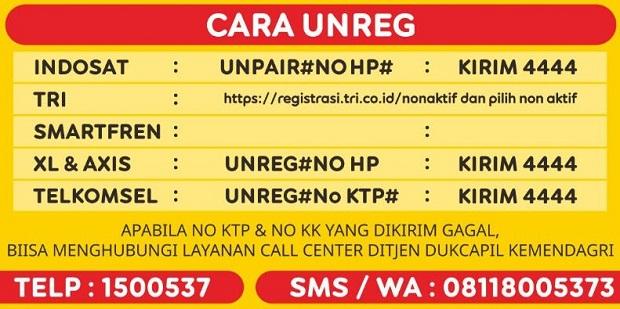 Cara #4 Unreg Nomor Indosat Ooredoo yang Sudah Teregistrasi