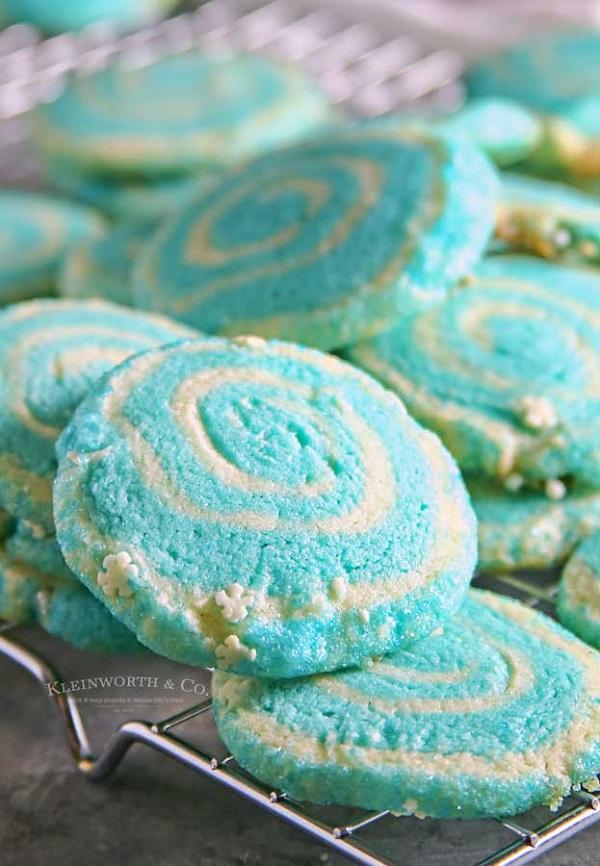 jack frost pinwheel cookies