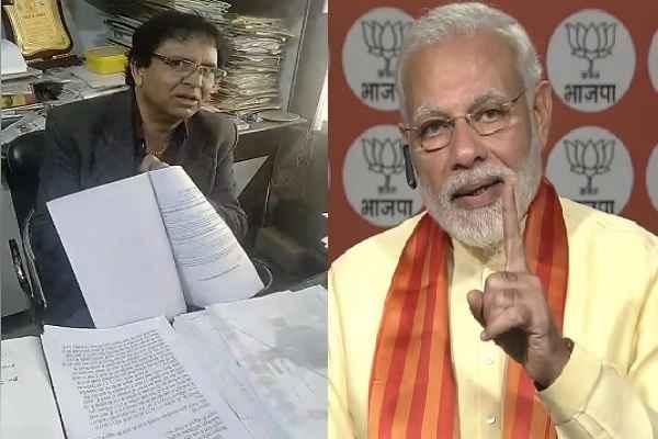 advocate-ln-parashar-will-complain-tahsil-mcf-huda-corrupt-officer-to-pm-modi