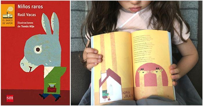 mejores libros de poesía infantil para niños, niños raros Raúl Vacas