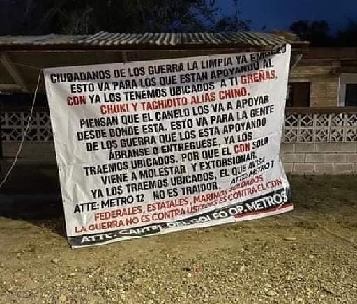 El Cártel del Golfo esta de regreso y con su brazo armado Los Metros amenaza a Las Tropas del infierno del CD, por Tamaulipas