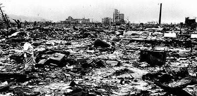 Kota Hiroshima setelah dijatuhkan bom atom - berbagaireviews.com