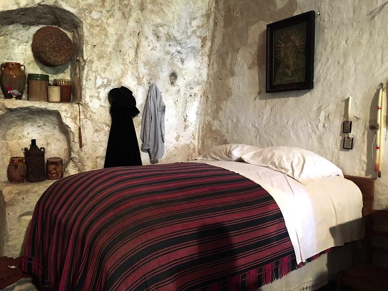 La casa grotta a Matera