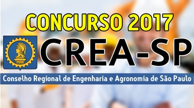 concurso CREA-SP 2017