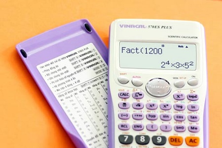 Download miễn phí phần mềm giả lập Máy tính Vinacal fx 570ES Plus II