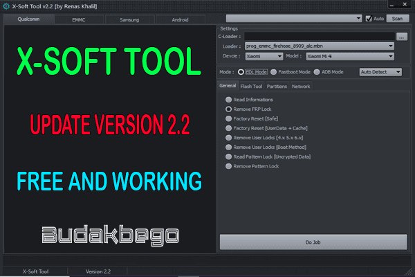 X-Soft Tool Update Version 2.2 Free and Working