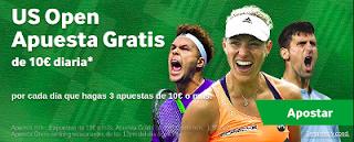 betway Apuestas Gratis en el US Open hasta 9 septiembre