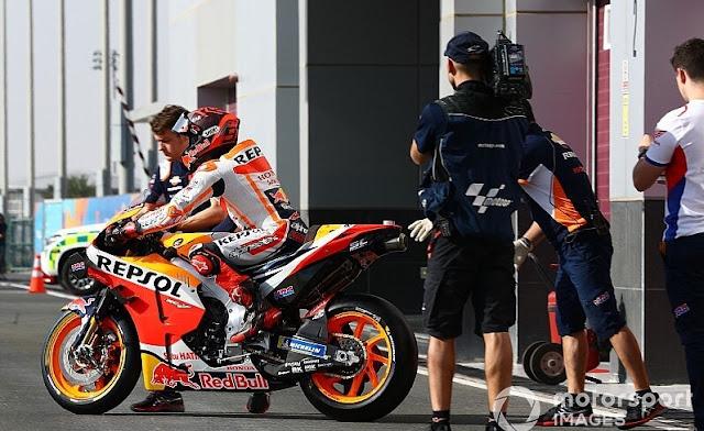 Kelemahan Motor Baru Honda MotoGP 2020 dari Marc Marquez