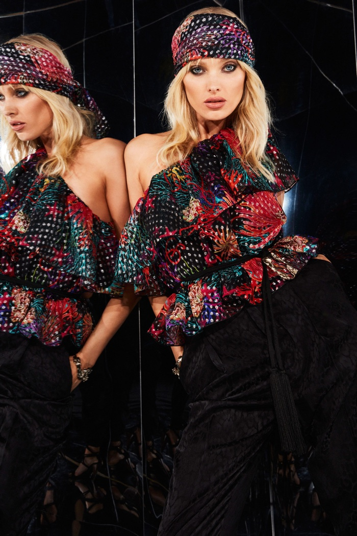 Dundas Pre-Fall 2020 Collection featuring Elsa Hosk