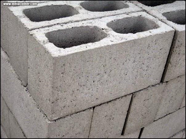 blocos de concreto de construção