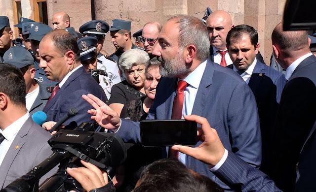 Pashinyan parte hacia Estados Unidos en visita de trabajo