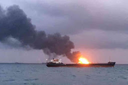 Russia: 2 Ships Catch Fire in Black Sea, 10 Sailors Dead