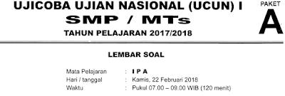 """#1. UCUN DKI JAKARTA 2017/2018 """"Naskah Soal paling Mendekati Gambaran UN 2018"""""""