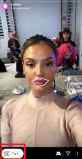 Lip filler filter instagram | How to get instagram lip filler filters