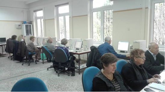 Σε εξέλιξη μαθήματα εκμάθησης Η/Υ για την Τρίτη Ηλικία στη Λάρισα