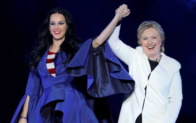 Katy Perry, Performing for Clinton, Answers Critics: 'I Am Using My Voice'