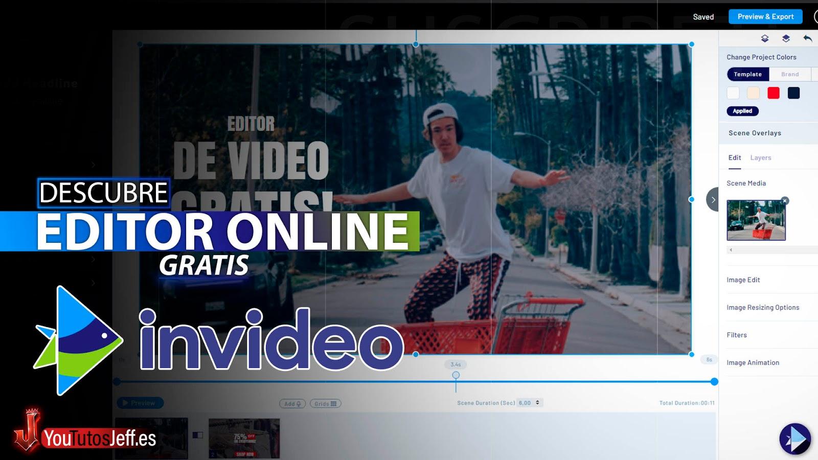 Crea Vídeos Profesionales de Forma Simple | Editor de Videos Online | InVideo Español