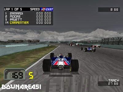 Cart World Series PSX Pitcure Screenshot