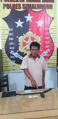 Unit Reskrim Polsek Tanah Jawa Ringkus Penulis Togel di Warung Samplok