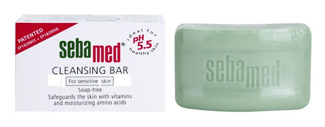Sebamed Cleansing Bar for Sensitive Skin