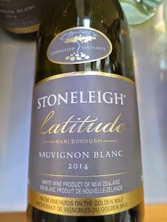 Stoneleigh Latitude Sauvignon Blanc 2014 - Marlborough, South Island, New Zealand (89 pts)