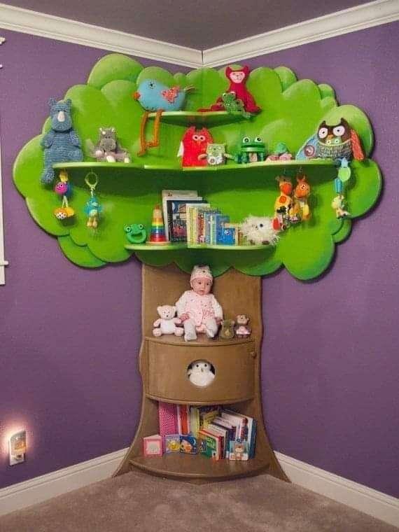 غرف نوم اطفال :افضل 20 تصميم واشكال ديكورات جدران غرف نوم اطفال