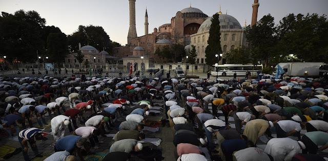 Αγία Σοφία: Παγκόσμια κατακραυγή για τον Ερντογάν