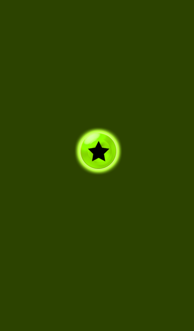 Light Simple Green Star