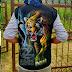 Rompi Lukis Kujang Harimau R08
