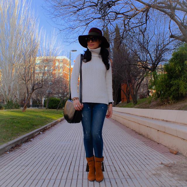 LOOK Jersey de Ochos y Sombrero Fedora