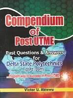Delta State Polytechnic Otefe Oghara POST UTME Past Questions and Answers