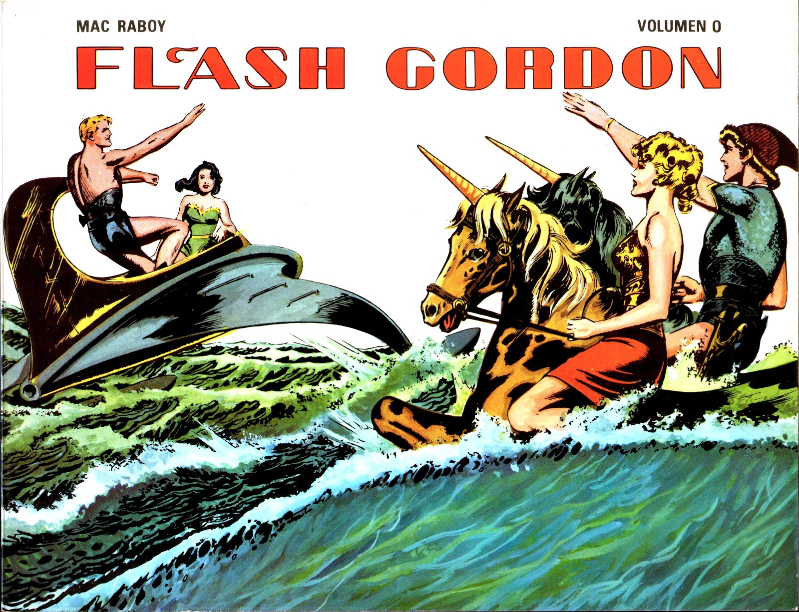 Flash Gordon. Mac Raboy. Ediciones B.O. 00 - 07 - Arreglos de JMG