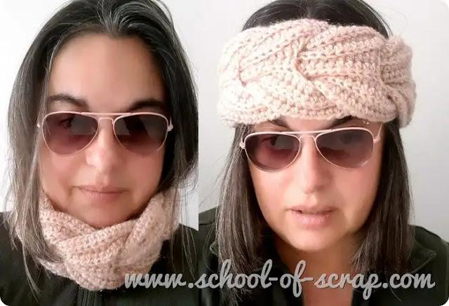 Cómo Hacer una Diadema o Bufanda Trenzada a Crochet