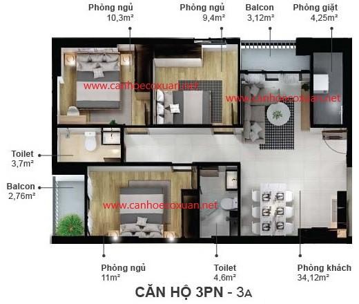 can-ho-3-phong-ngu-83.25m2-eco-xuan-skyresidences-binh-duong-block-a-3a