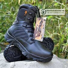 Sepatu Delta force 8 inch hitam