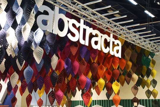 Ljudabsorbenterna Airleaf av Stefan Borselius för Abstracta | www.var-dags-rum.se