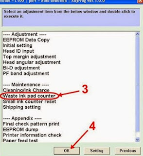 General Error Printer L100