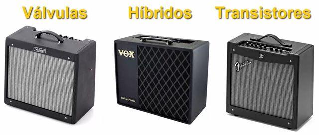 Diferentes Tipos de Amplificadores para Guitarra Eléctrica
