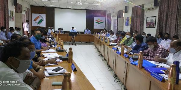 11 अक्टूबर को बालिका दिवस भव्य रूप से आयोजित किया जावे  -कलेक्टर श्री सिंह