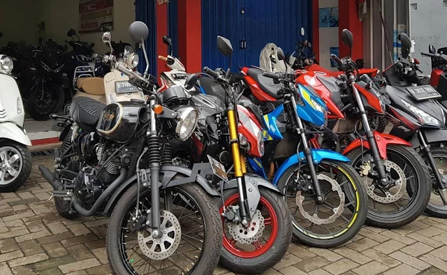 cara tips beli motor bekas online