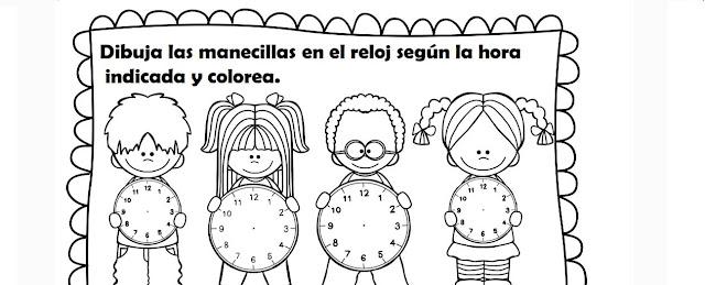 horas,minutos,primaria,preescolar