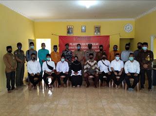 8 Petugas PTPS Dilantik, Begini Harapan Ketua Panwaslu Kecamatan Selayar
