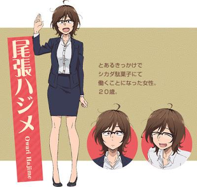 """Chinatsu Akasaki se une al reparto de """"Dagashi Kashi 2"""""""
