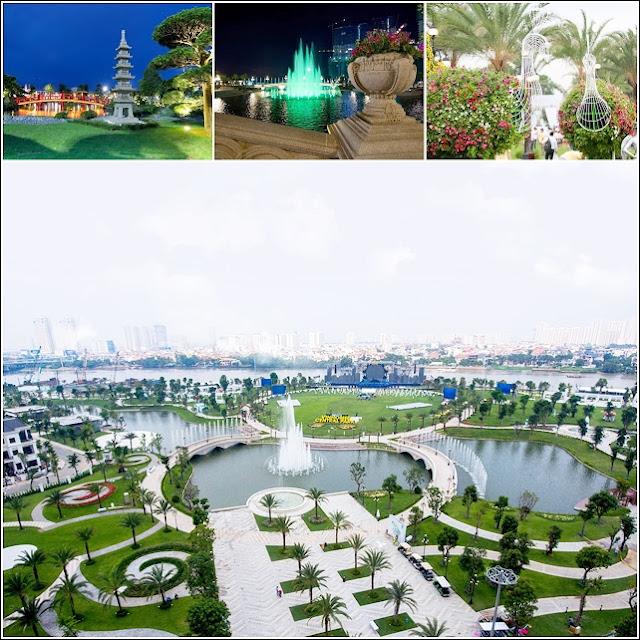 Big Park Vinhomes Central Park apartment Saigon Riverside