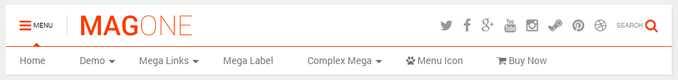 Download Template Blogger Magone Terbaru 2020 AMP, Magazine dan News